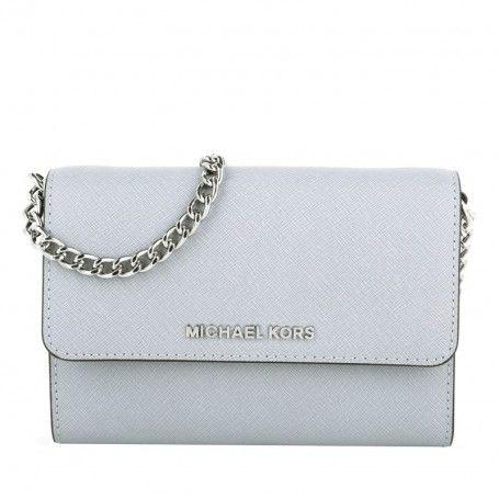 8f37ef04dee79 Michael Kors Tasche – Jet Set Travel LG Phone Crossbody Dove – in grau –  Umhängetasche für Damen