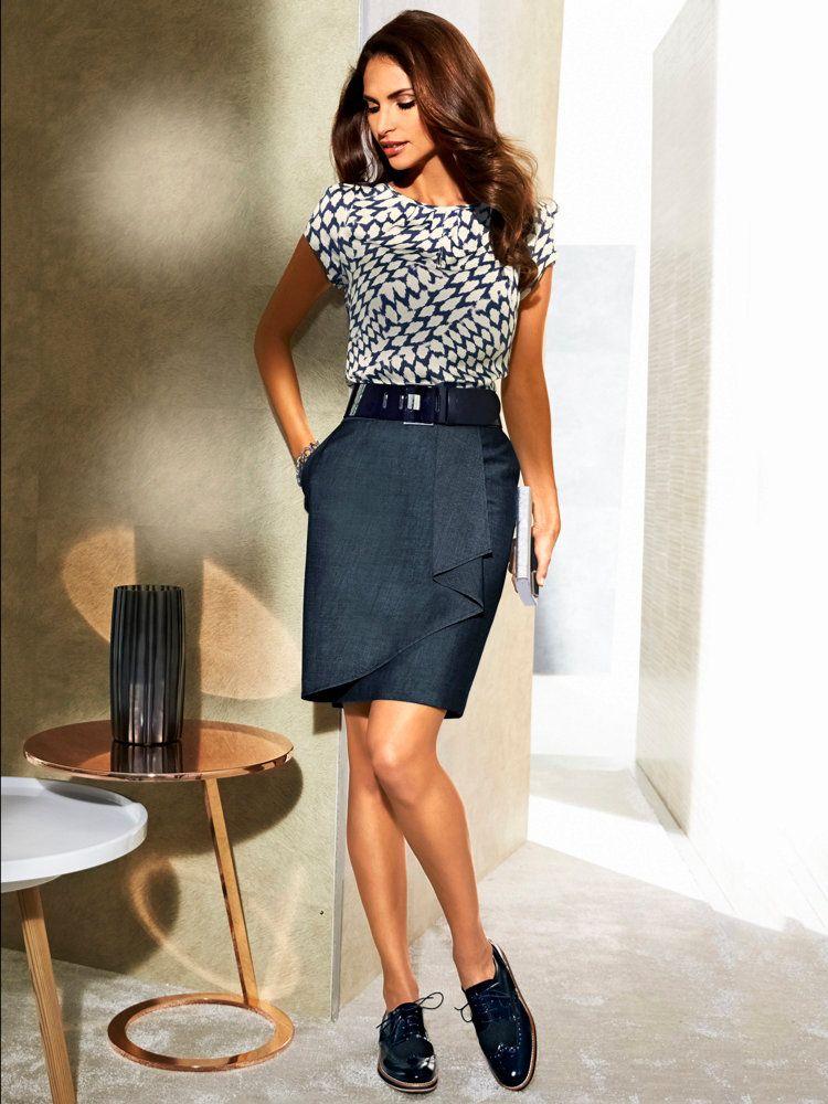 jupe droite longue ou courte l 39 empreinte glamour jupes crayon les jupes et jupe droite. Black Bedroom Furniture Sets. Home Design Ideas
