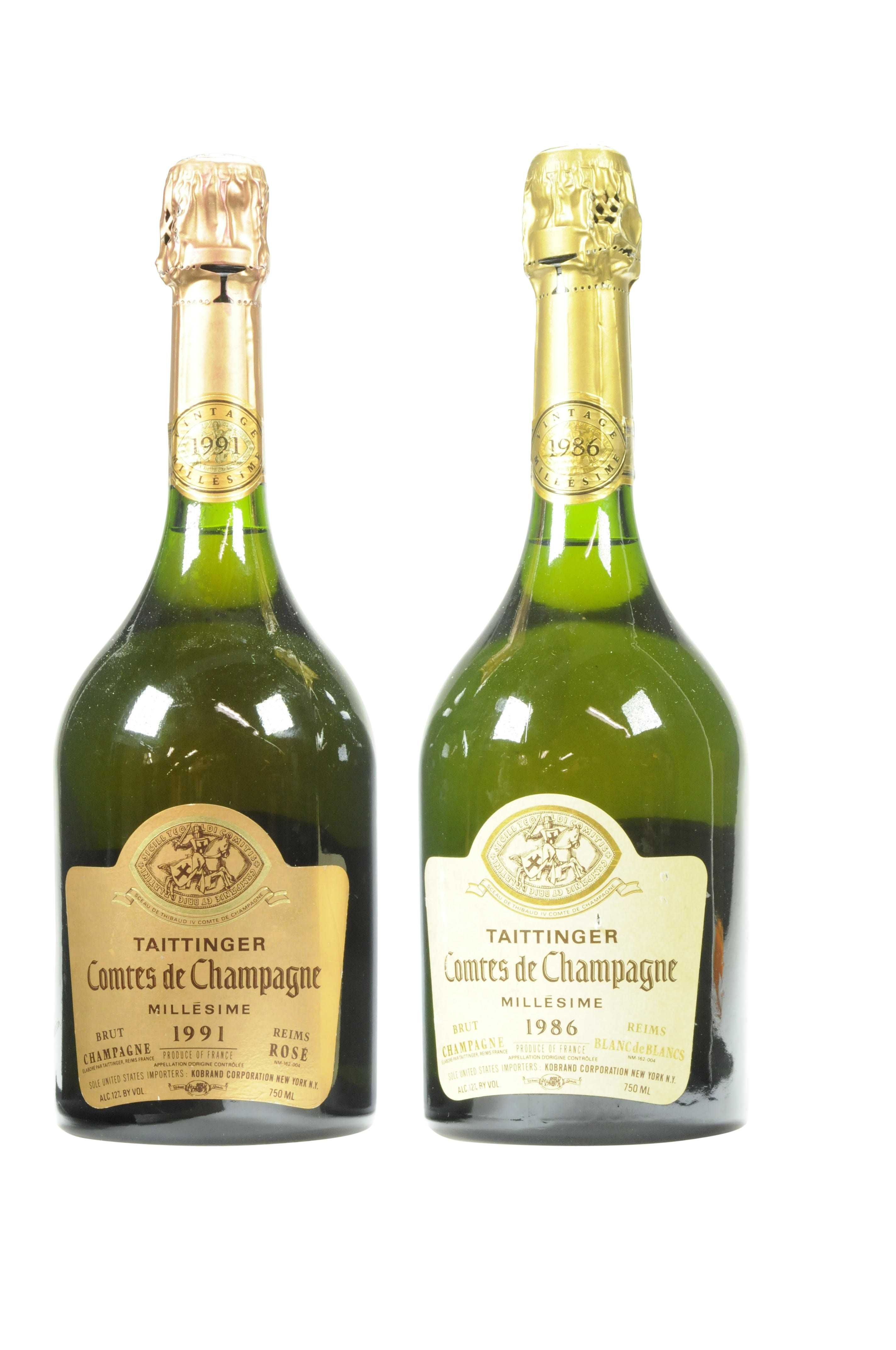 Mixed Taittinger Comtes De Champagne Champagne Champagne Lovers Wines