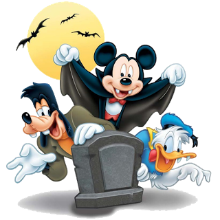 Mickey Mouse and friends halloween clipart_1.png (320×320 ...
