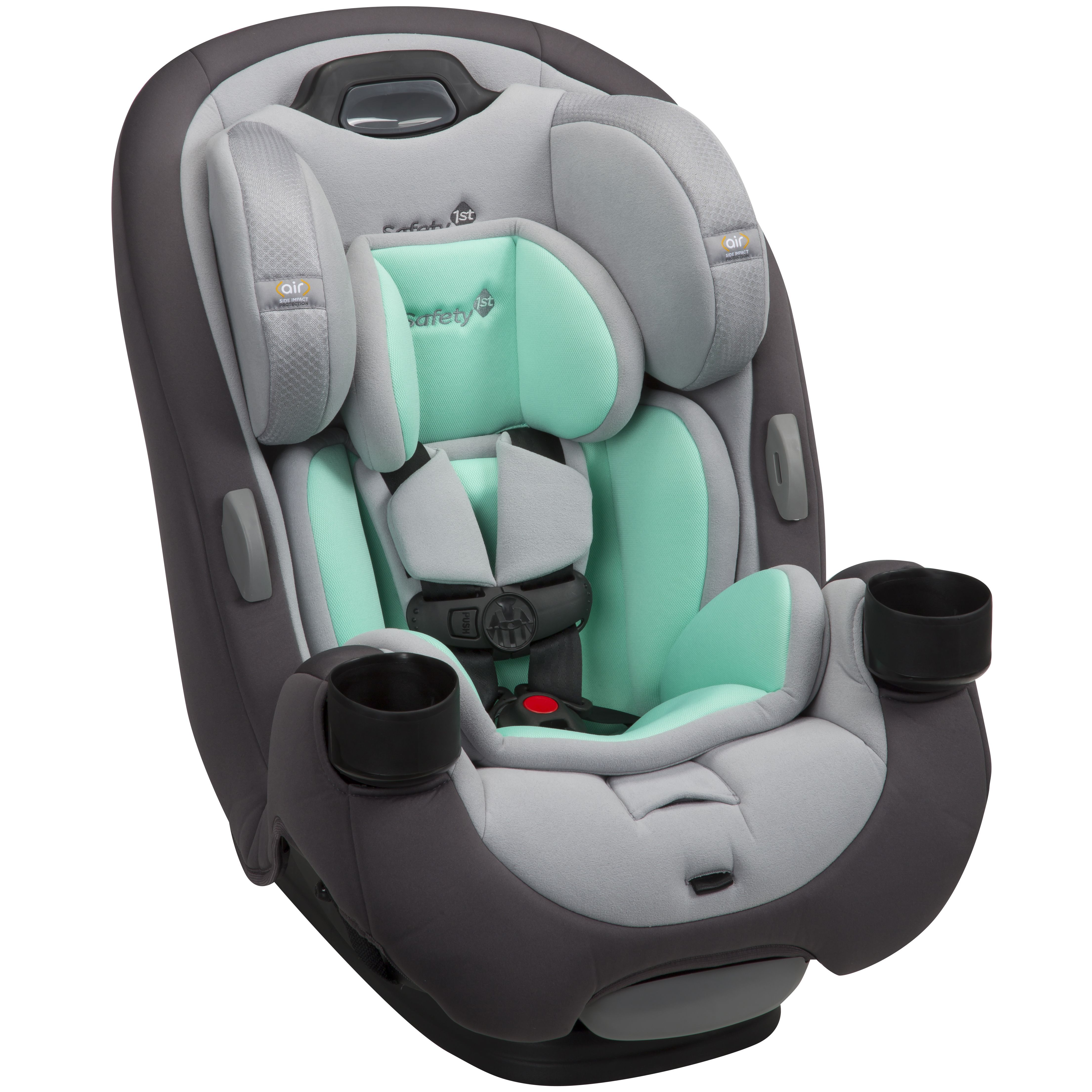 Safety 1st Grow And Go Ex Air 3 In 1 Convertible Car Seat Teal Topaz Blue