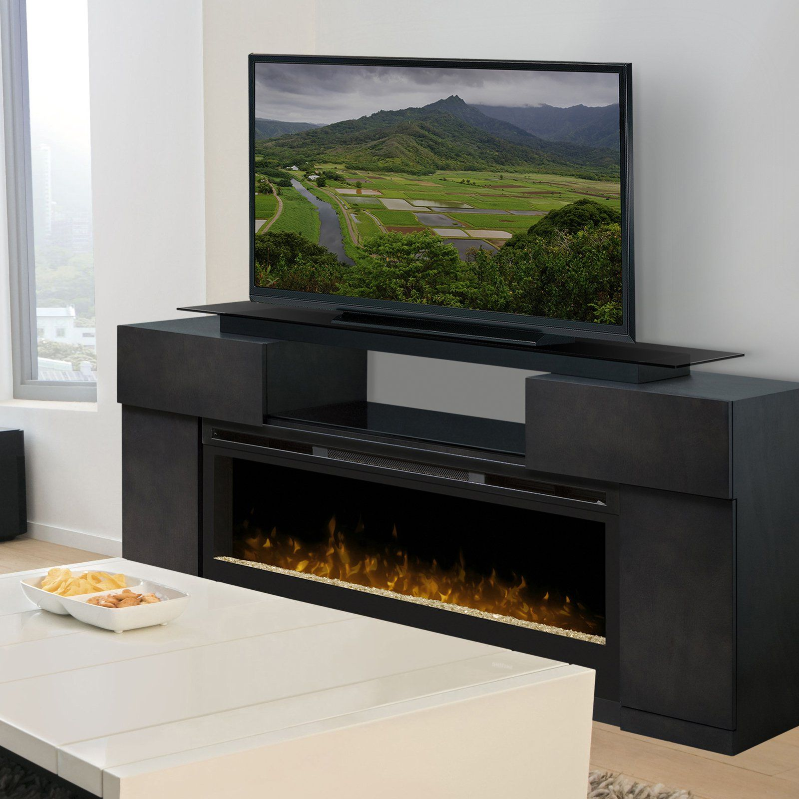 Dimplex concord media electric fireplace gdssc products