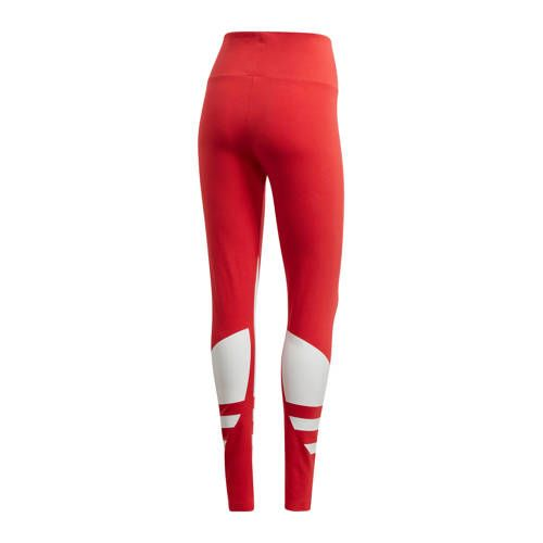 adidas Originals Adicolor legging rood/wit in 2020 - Adidas ...