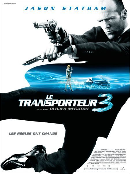 Le Transport 3 Action Movie Poster Jason Statham Movies Action Movies