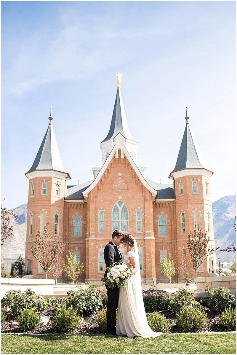 Provo City Center Temple Wedding   K Ell Photography   Pinterest