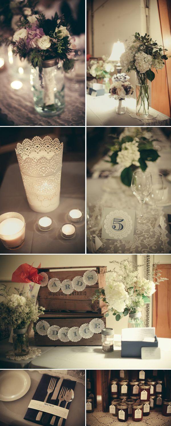 Rustic country winter wedding decor  Keywords: #winterweddingdecor #jevelweddingplanning Follow Us: www.jevelweddingplanning.com  www.facebook.com/jevelweddingplanning/