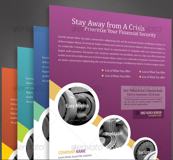 Nice Flyers Design Templates | Danasojmb.top Within Flyer Samples Templates