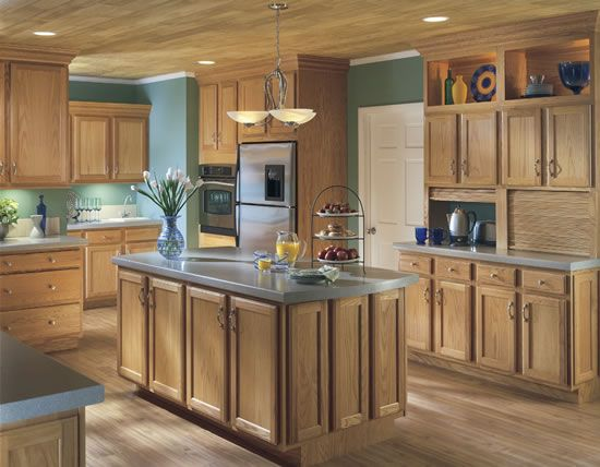 Square, Recessed Oak Panels Are Inset Into Solid Oak Door Frames. The Edges  Of The Door Frames And The Cabinet Drawer Fronts Are Milled With A Step And  ...