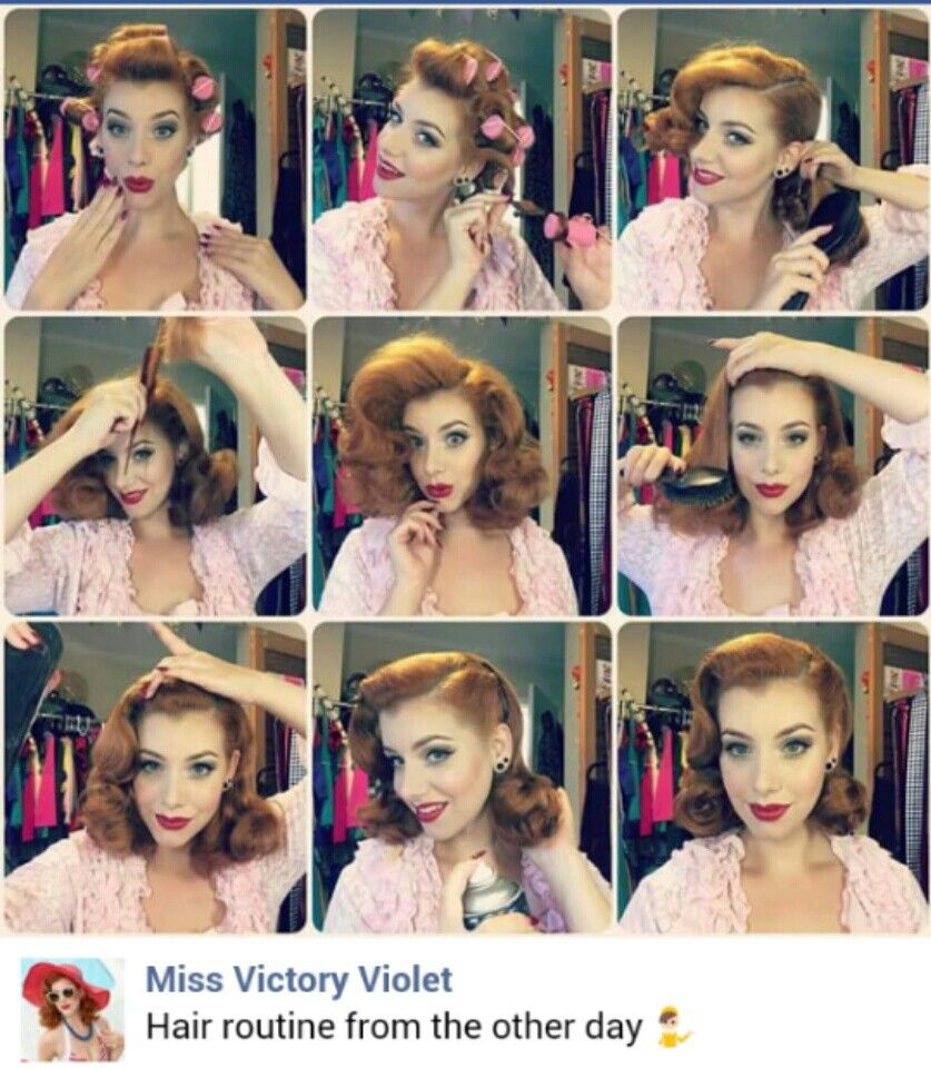 miss victory violet … | health & beauty | 50s h…