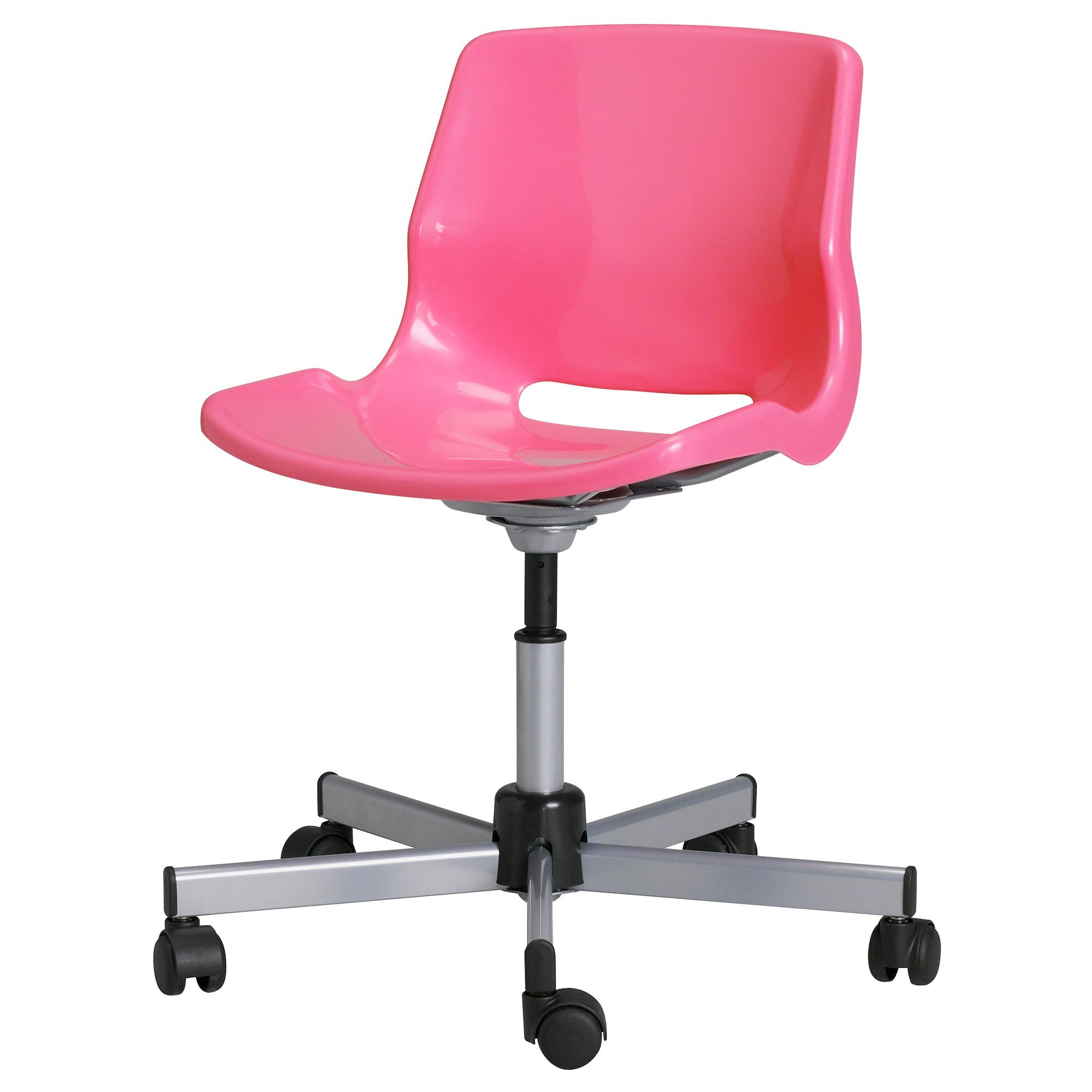 Ikea Pink Desk Chair Kodex Accessories Snille Swivel For My Office Home