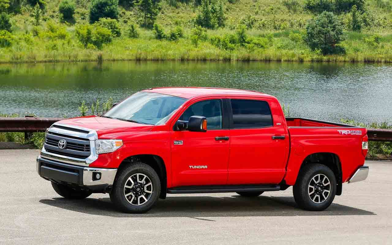 New model 2017 toyota tundra redesign will reportedly get a host of improvements including more expressive styling new engines specs price and release