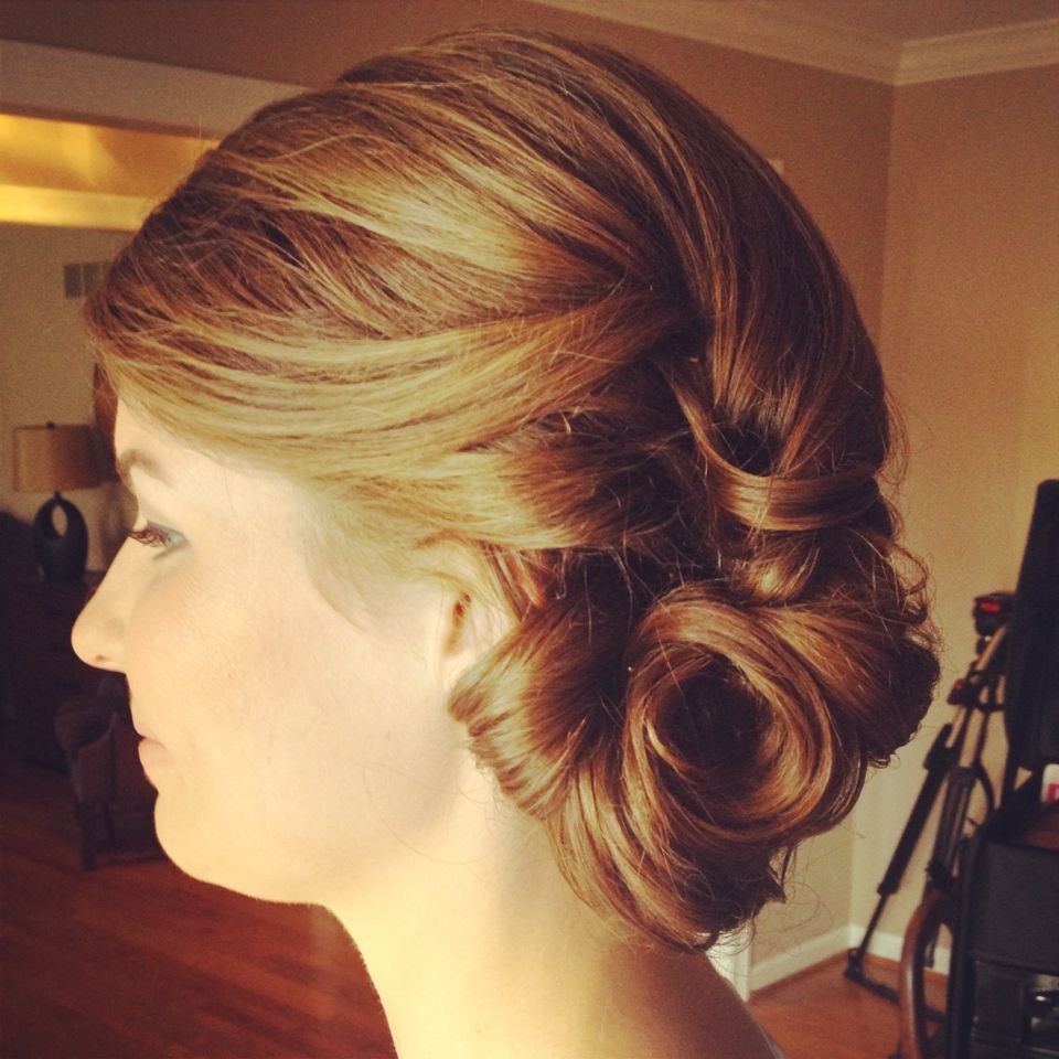 Side Updo Classic Updos Prom Pinterest Hairstyles Games Updo