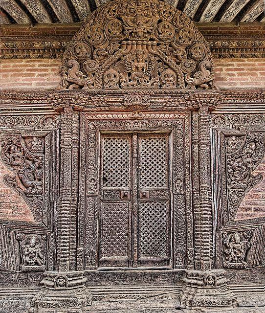 Nyatapola Temple Doors Doors Windows Doors Door