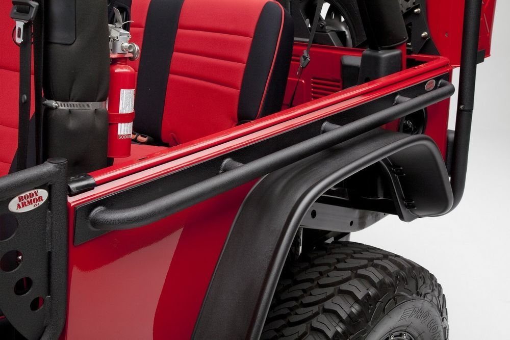 Details About Body Armor 4x4 Side Tube Rails For Jeep Wrangler Tj