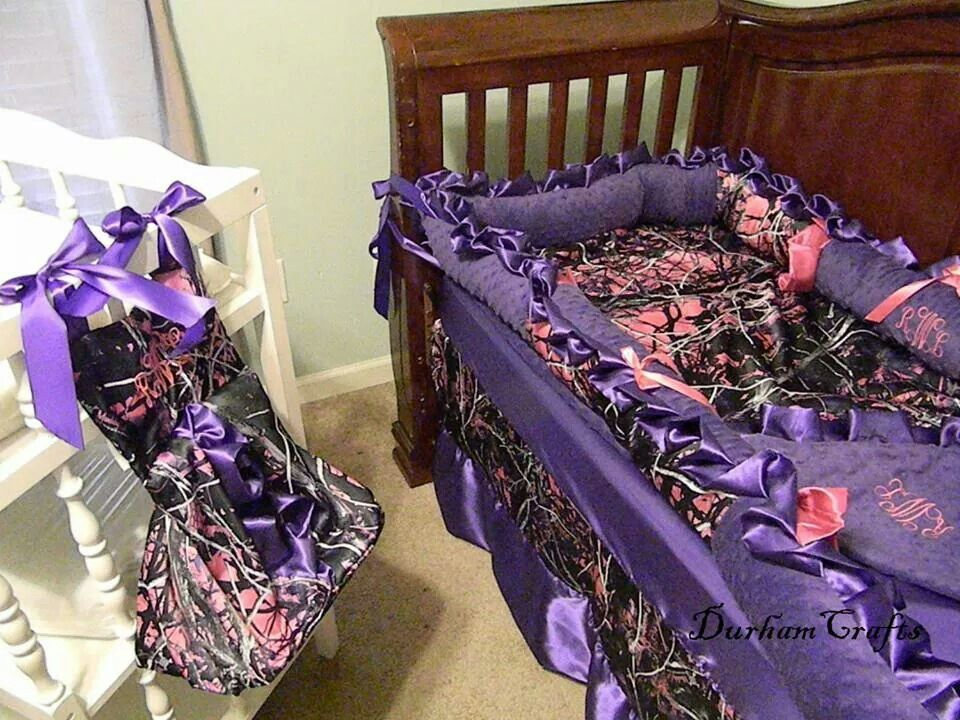 Muddy Girl Camo Baby Room. Love It!