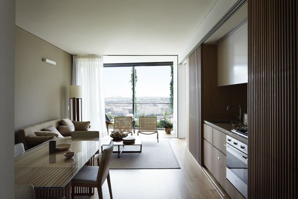 Koichi Takada Winning Liance One Central Park Apartments Room Interior