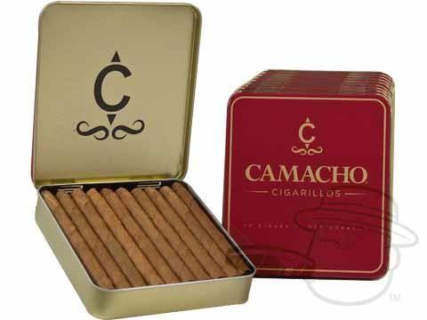 Camacho Cigarillos 4 x 24—Tins: 200 Cigarillos - Best Cigar Prices