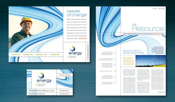 brochure newsletter stationery flyer ads and datasheet designs - Newsletter Design Ideas