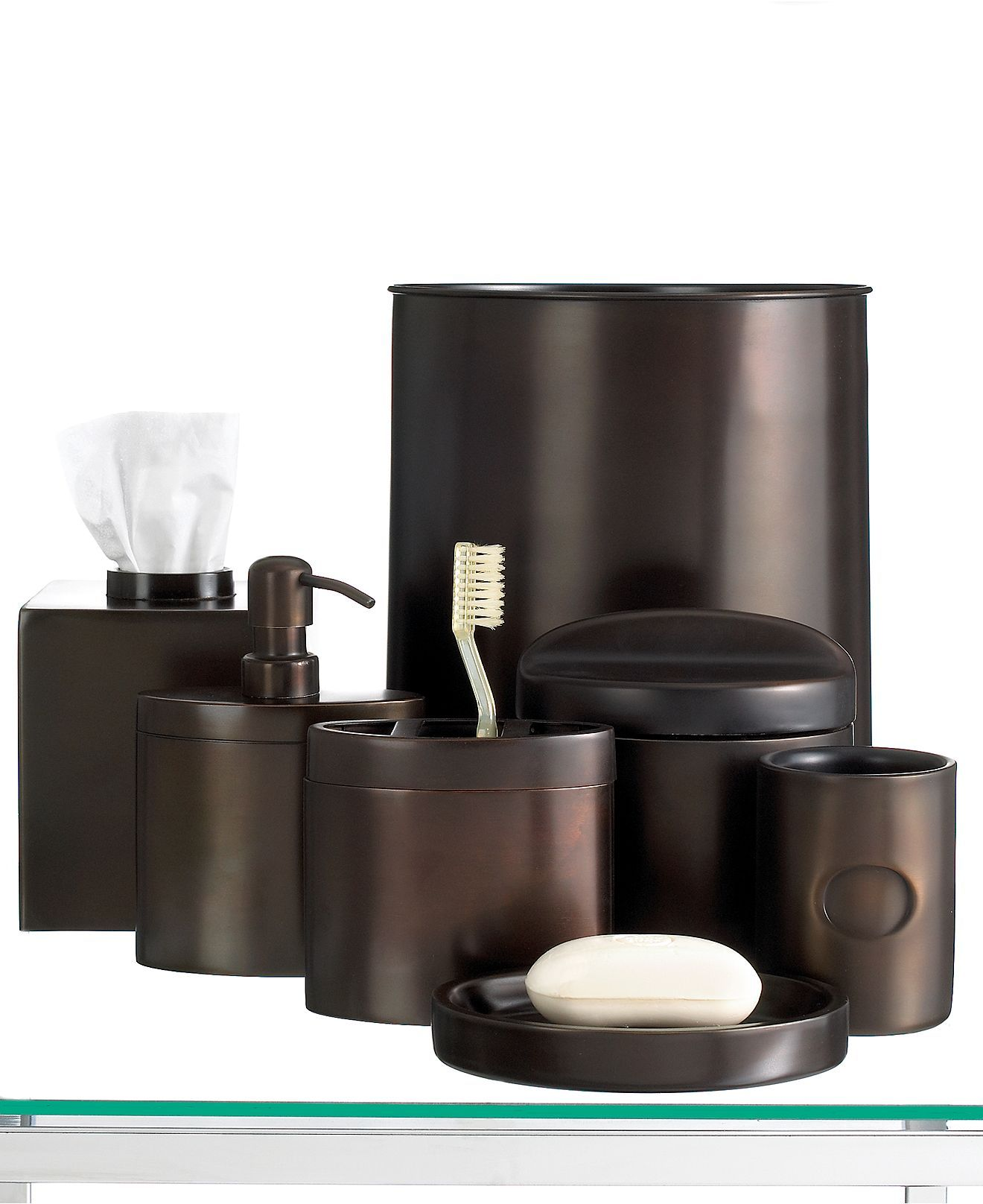 Hotel Collection Bath Accessories Executive Oil Bronze Collection - Hotel collection bathroom accessories for bathroom decor ideas