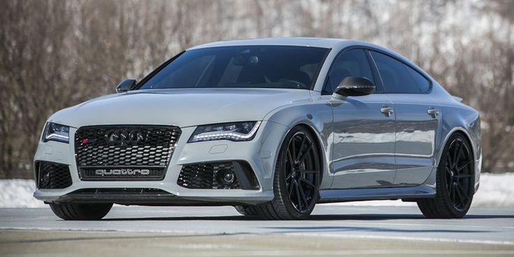 gris Audi RS7-#Audi