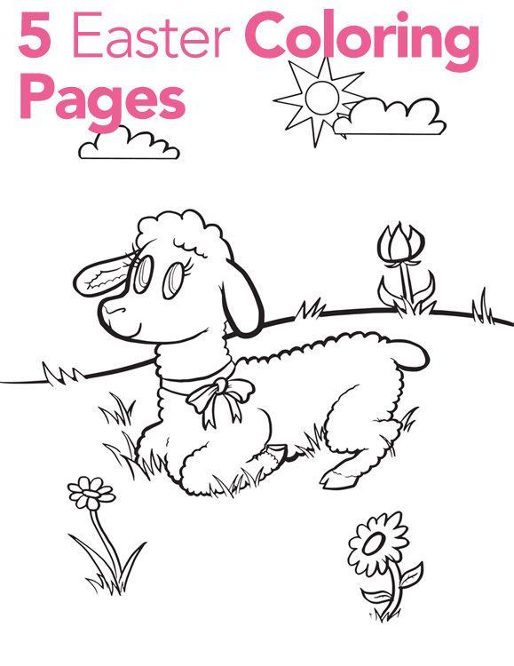 Easter Coloring Pages for Kids - Parenting.com | Easter | Pinterest ...