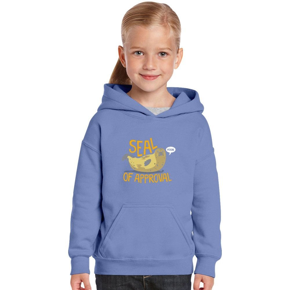 Seal Of Approval Kids Hoodie