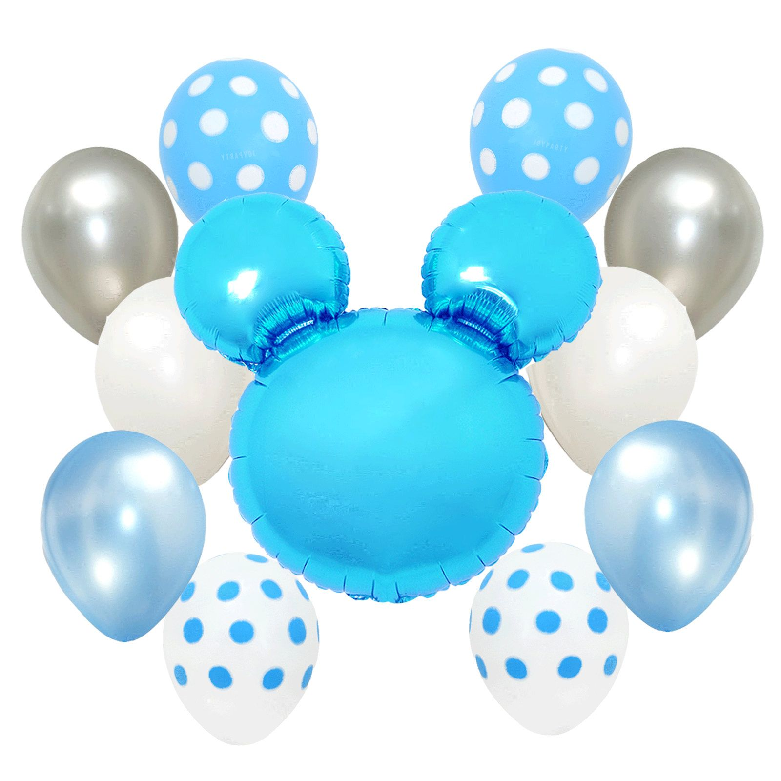 Mickey Mouse Foil Balloon Babyshower babyboy Boy Party Kids Birthday