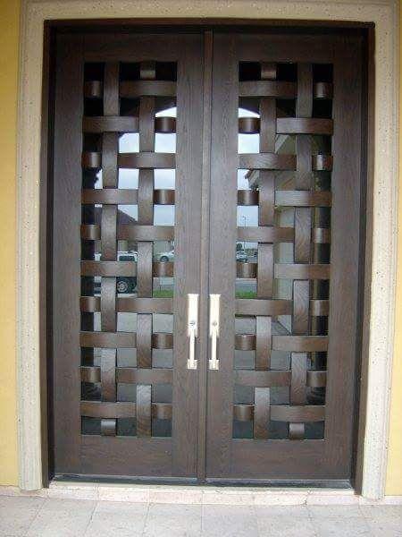 Pin by margarita urrutia on front door puertas herreria puertas puertas principales - Puertas de herreria para entrada principal ...