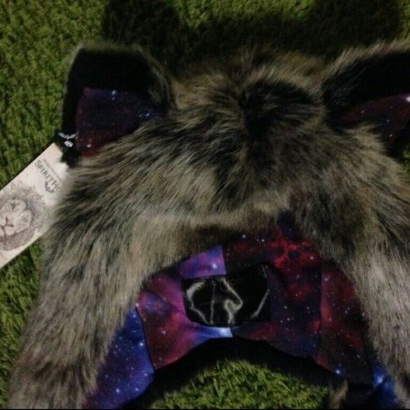 Black milk original proto wolf spirithood One of a kind new with tags. BlackMilk - original wolf spirit hood prototype without black milk drip logo  Contact me at rainboutique.sales@gmail.com   Item is shipped from aus with tracking. BlackMilk Other