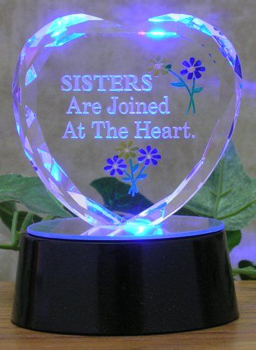 9b601867f8bd Great Gifts · Sisters Lighted Heart Banberry Designs  http   www.amazon.com dp