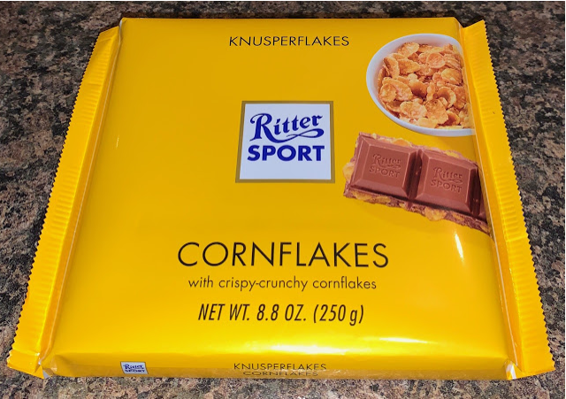 Large Ritter Sport Cornflakes Edition UK in 2020 No