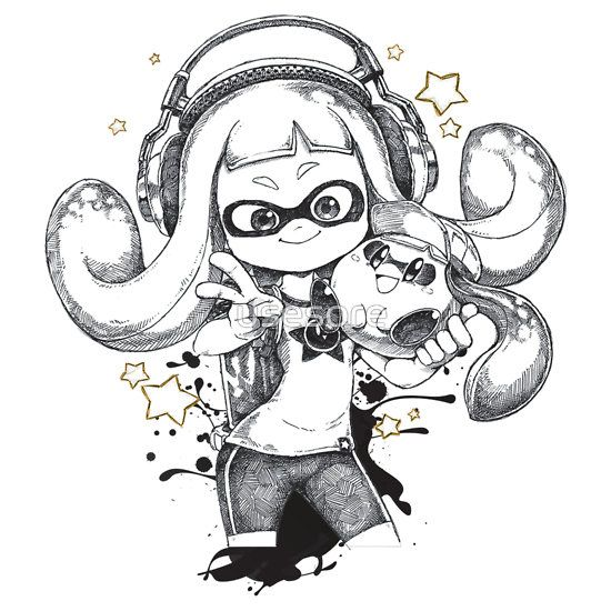 QT 3.14 // INKLING GIRL // SPLATOON & KIRBY by usesore | videojuegos ...