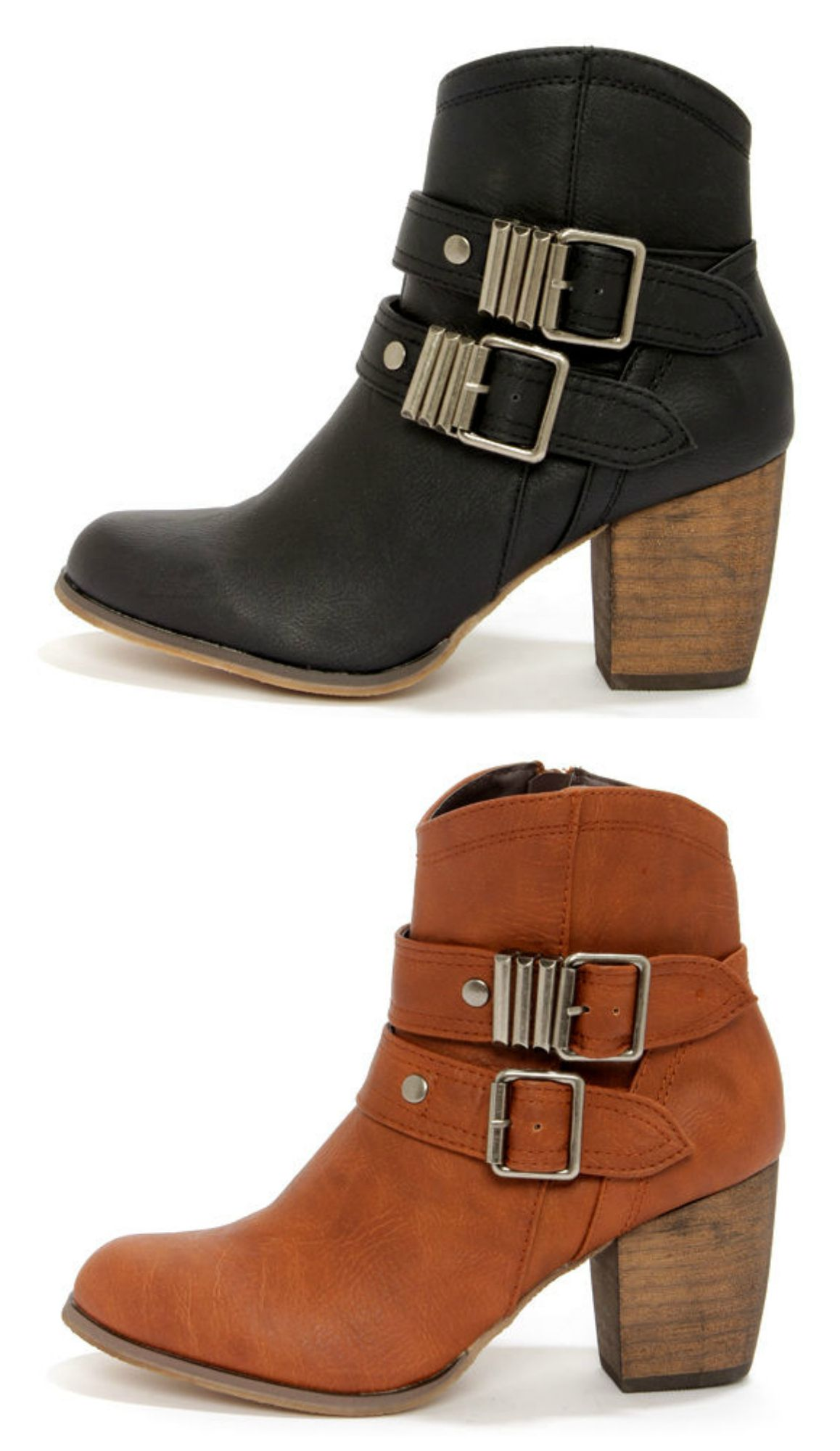 Buckled Ankle Boots. <3 by TheBellJar.nl