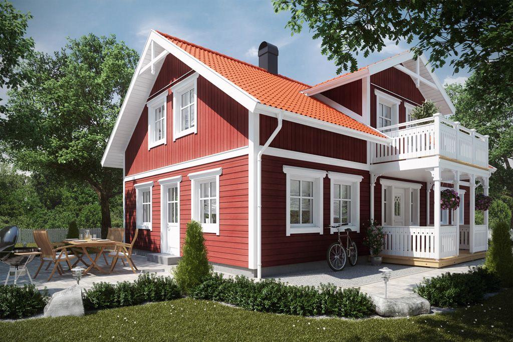 Unsere bauunternehmer bauen ihr schwedenhaus bezahlbar for Einfaches holzhaus bauen