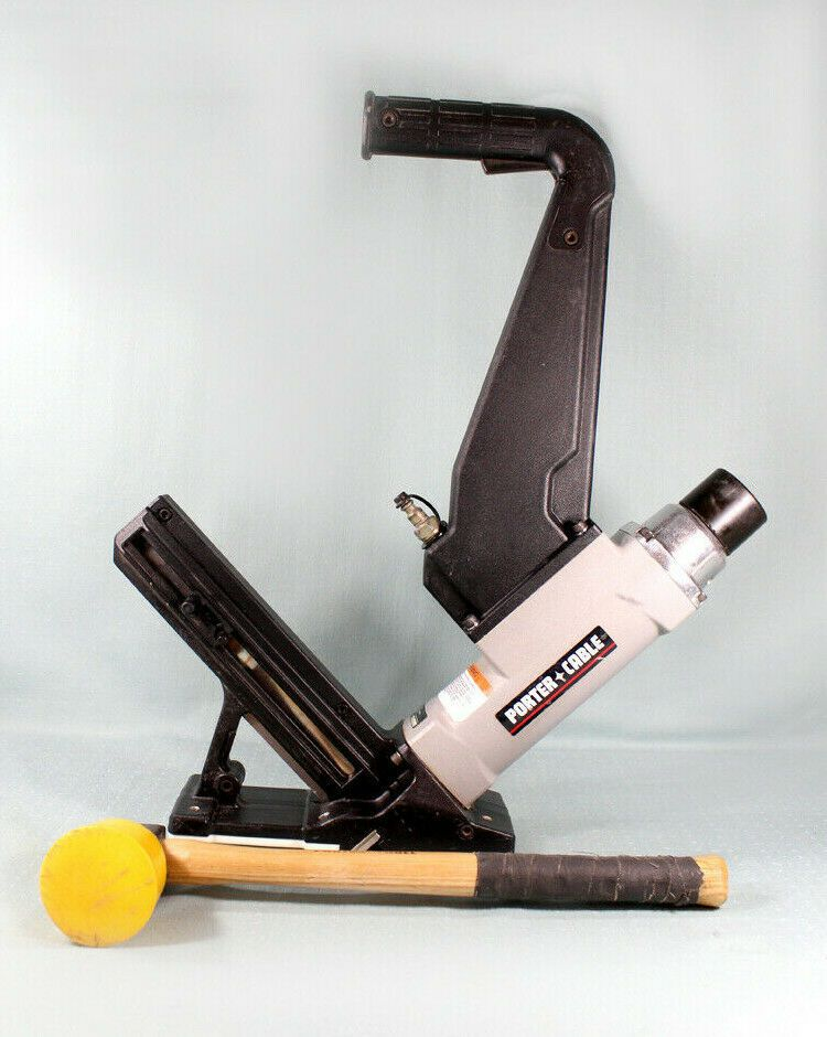 Porter Cable Fcn200 Pneumatic Hardwood Flooring Cleat Nailer Used