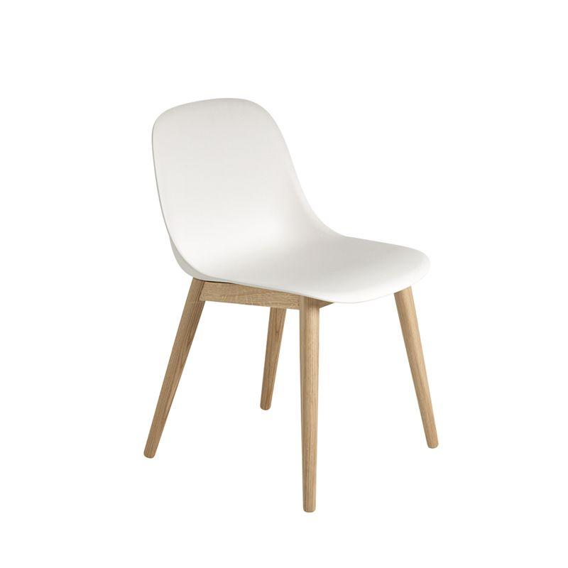 Chaise muuto fiber chair 4 pieds bois sur SILVERA eshop