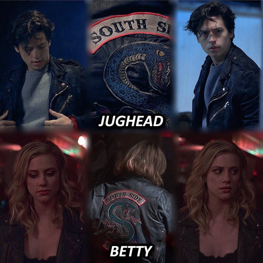 Serpent Jughead And Serpent Betty Riverdale In 2019 Series
