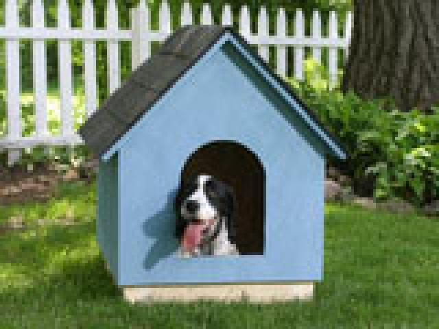 Build A Dog House With One Of These 15 Free Plans: Simple A Frame