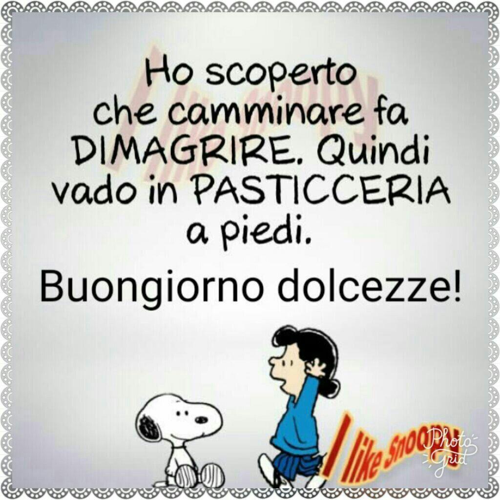 Ahahah Condivido My Sweet Snoopy Buongiorno Divertente