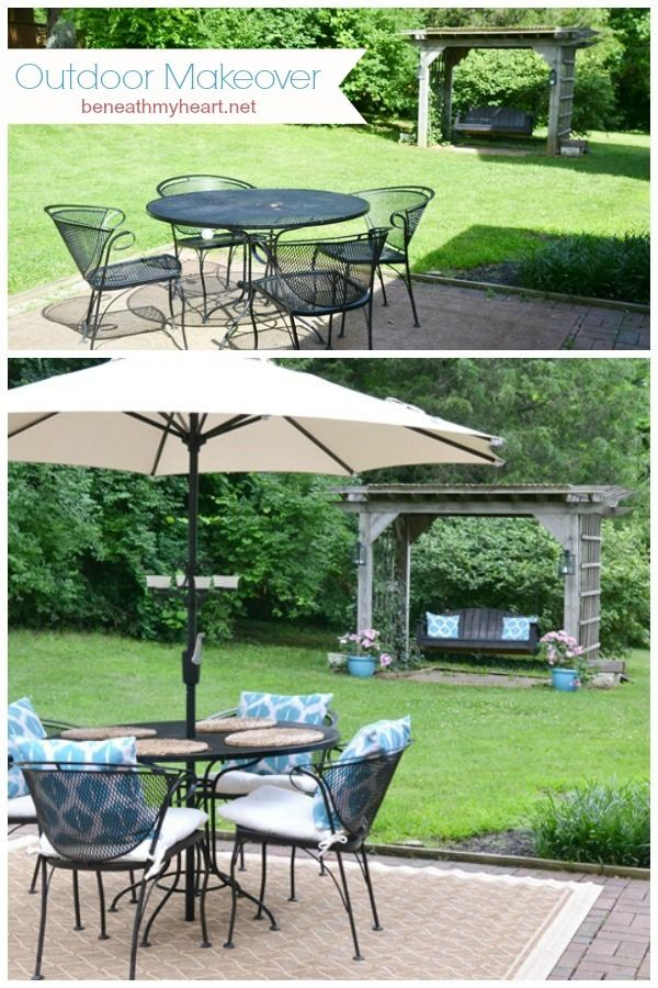 5 Easy Steps To An Outdoor Makeover Patio Backyard 640 x 480