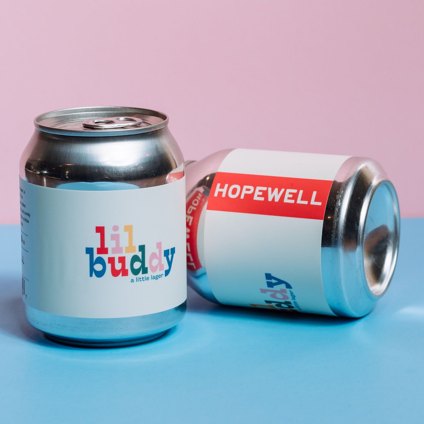 Instagrammable Wine, Luxe Bitters + Two Very Different Takes on Beer is part of Beverage packaging, Beer packaging, Beer, Beer can, Beer design, Hopewell - Welcome to Happy Hour, our favorite time of the month where we dive deep into drink packaging  Read on to see the best in booze branding, including a social mediainspired wine label and one very cute beer can