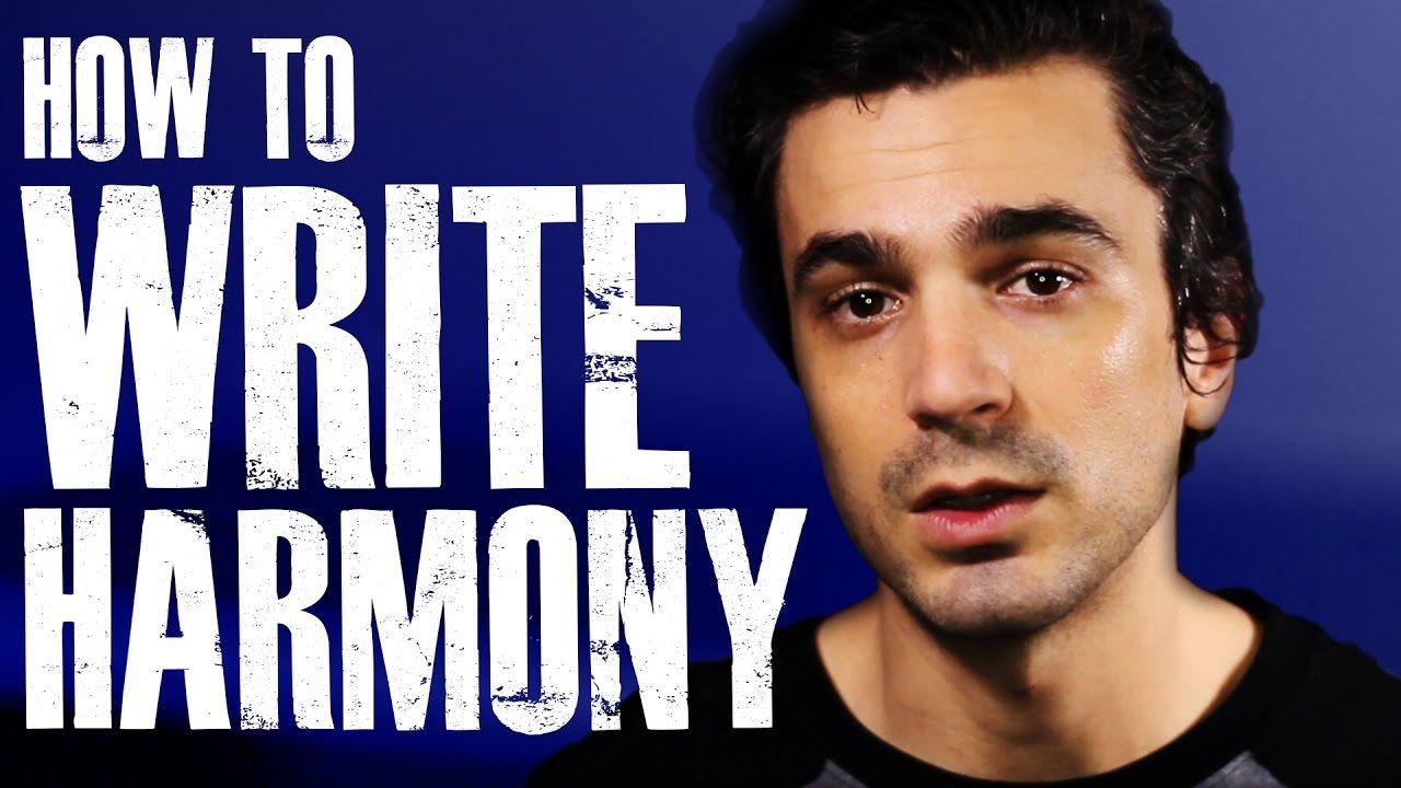 How to WRITE Harmonies! [Vocal Harmony Tutorial] Harmony