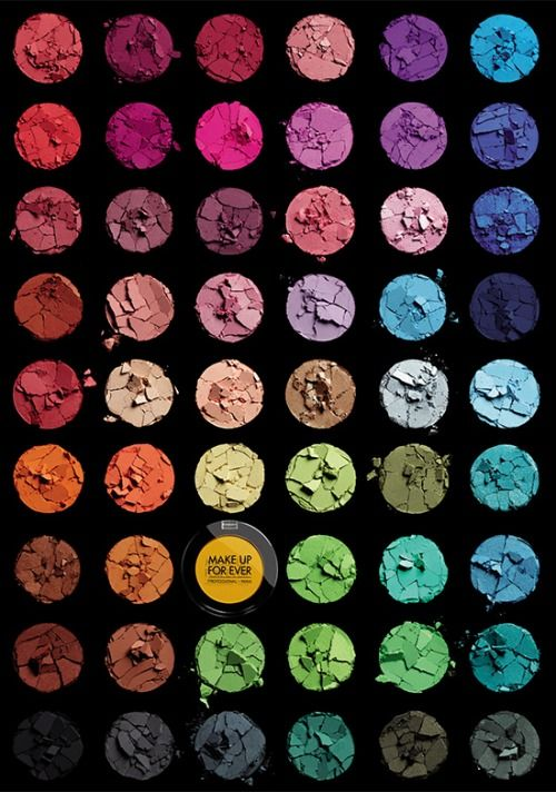 Make Up For Ever Palette Swatch