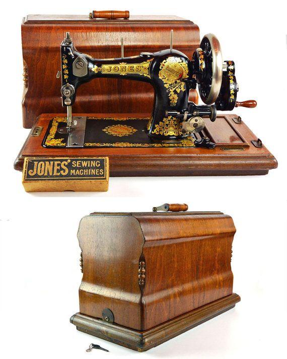Jones Family C S Sewing Machine