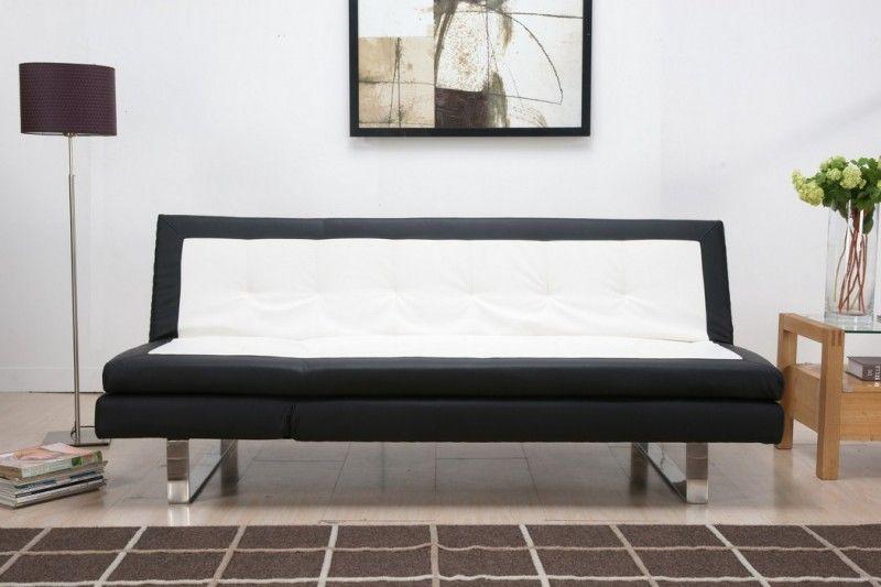 Bettsofa Design design schlafsofa mainz kunstleder schlaf bett sofa lounge