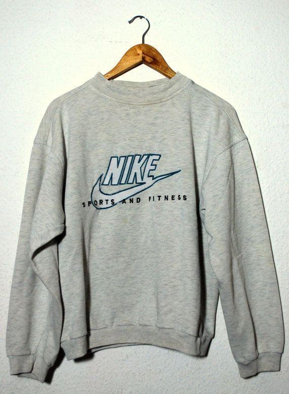 """Vintage 90er Jahre Pullover NIKE """"Sport und Fitness"""" ... Vintage 90er Jahre Pullover NIKE """"Sport und..."""