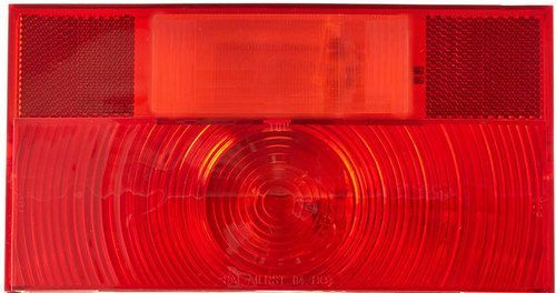 Peterson V25911 Travel Trailer Stop, Turn, Tail Light Red
