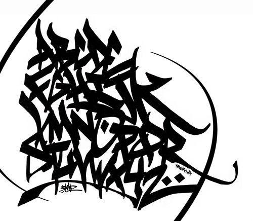 Graffiti Letters - Socialphy
