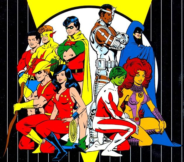New Teen Titans by George Pérez.