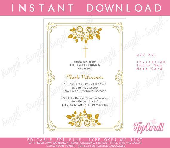 first communion invitations religious invitations first communion